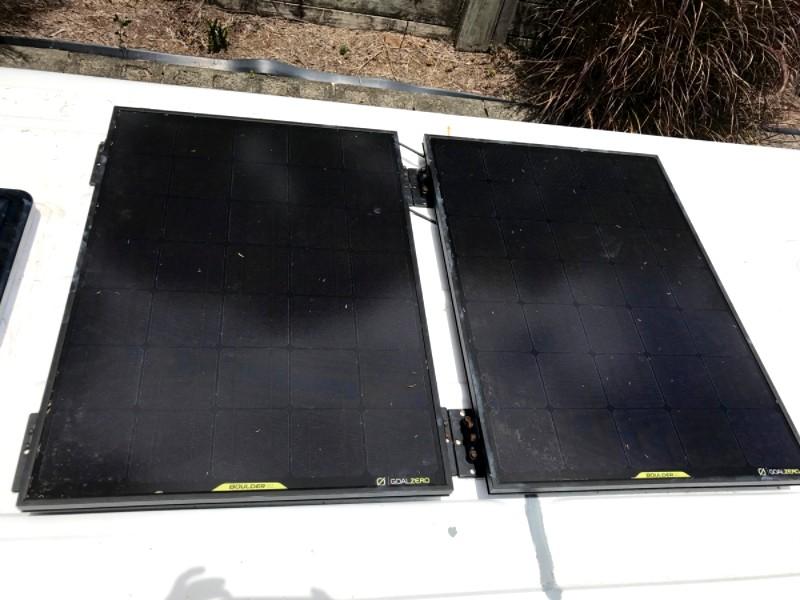 2 x Boulder 90 Solar Panels